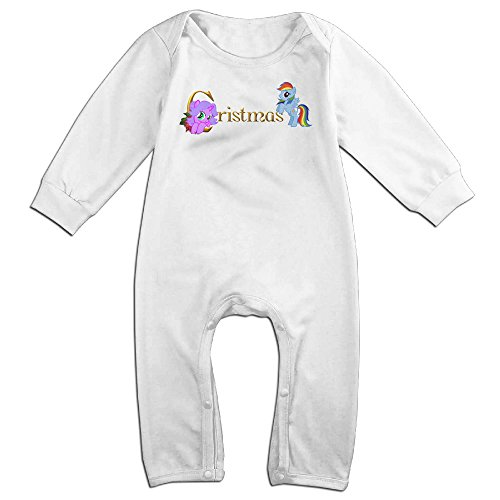 [VanillaBubble Pony And Christmas For 6-24 Months Boys&Girls Fashion Tshirt White Size 24 Months] (Bay Watch Costumes)