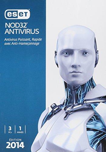 ESET NOD32 Antivirus 2014 Edition - 3 Users (User 2014 Eset 1)