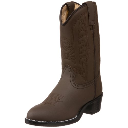 Durango Kids BT804 Lil' 8 Inch Eagle,Brown Emboss,11 - Durango Girls Cowboy Boots