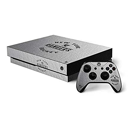 Image Unavailable. Image not available for. Color  Skinit New York Rangers  Xbox One X Bundle Skin ... 7b814c70b