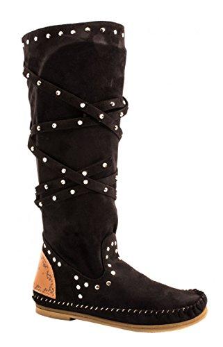 Elara - Botas De Vaquero Mujer negro