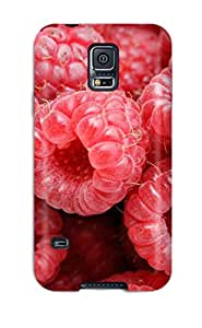 High-end Case Cover Protector For Galaxy S5(raspberry)
