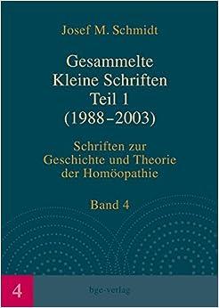 Book Gesammelte Kleine Schriften Teil 1 (1988-2003)