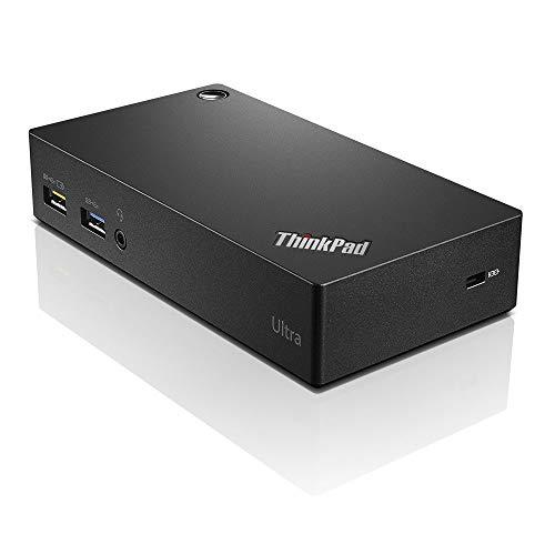 Lenovo Thinkpad Usb 3.0 Ultra Dock (40A80045US) (Renewed)