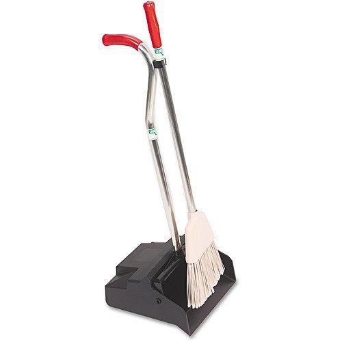 Unger Ergo Dustpan With Broom, 12 in