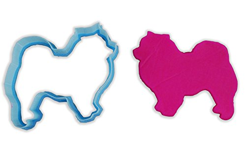 Chow Dog Breed Cookie Cutter - LARGE - 4 Inches