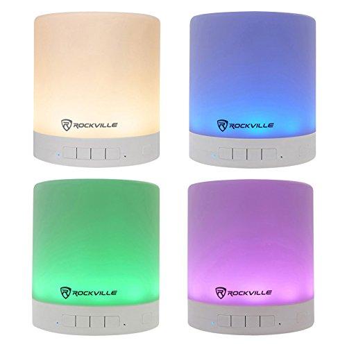 Rockville PBL20 20 Watt Portable Bluetooth Speaker w/ LED La