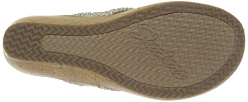 Mujer Crochet Dazzled Zapatos para Beverlee Natural Skechers 5qYI74