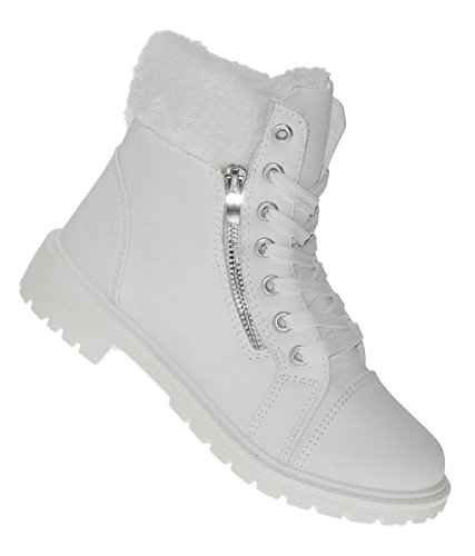 Art 627 Winterstiefel Damenstiefel Boots Stiefel Winterschuhe Damen Snow White