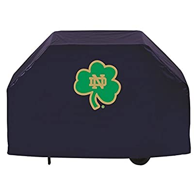 """NCAA Notre Dame Fighting Irish 60"""" Grill Cover, Shamrock Logo by Covers by HBS"""