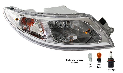 PetaParts PBP 34-534 Headlight (Passenger Side International 4000 4200 4300 4400 8600)