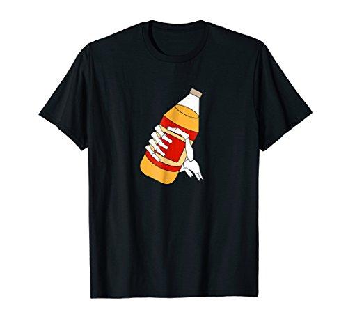 40 Oz Malt Liquor Skeleton T-Shirt