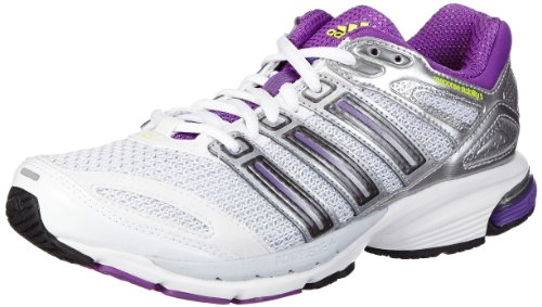 adidas Performance Response Stabil 5 Q33529, Damen Laufschuhe, Weiß (Running White/Ray Purple F13/Night Met. F13), EU 37 1/3 (UK 4.5)