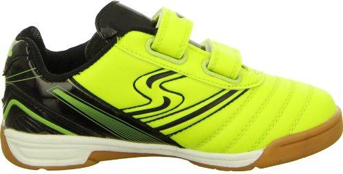 Sneakers 33038 Sportschuh Hallenschuh Turnschuh Fußballschuh Kinder-/ Herrenschuh Jungen Farbe: Neon-Gelb/ Schwarz