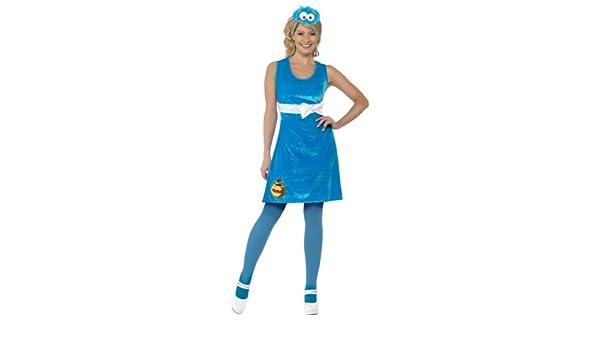 Fancy Dress Sesame Street Cookie Monster Costume (disfraz): Amazon ...