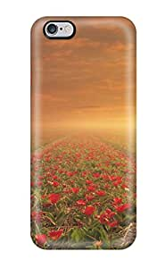 Theodore J. Smith's Shop Iphone Cover Case - Flower Fields Protective Case Compatibel With Iphone 6 Plus 8015575K81198234