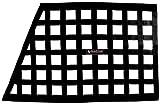 """Allstar ALL10288 Black 18"""" High x 29"""" Wide x 22"""" Wide Border Style Mount Oblong Ribbon Window Net"""