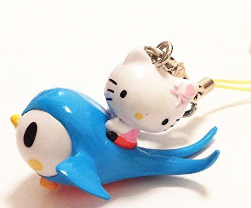 Hello Telephone Kitty (Tokidoki x Hello Kitty Frenzies Phone Charm Phonezie - Bird)
