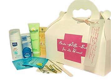 Erste Hilfe-Set für die Braut Hochzeit Geschenk: Amazon.de: Küche ...
