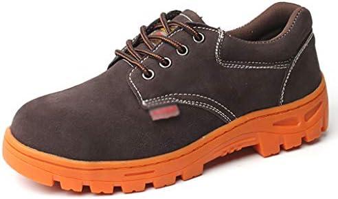 安全靴・作業靴 セーフティシューズスエードレザー/安全作業トレーナー (色 : B, サイズ さいず : 44)