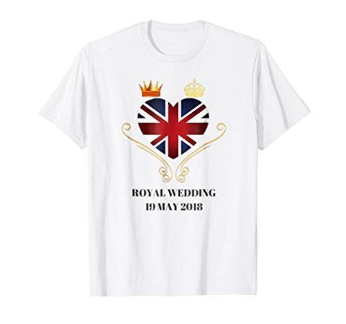 Harry & Meghan Royal Wedding Shirt 2018 Watch Party Gift