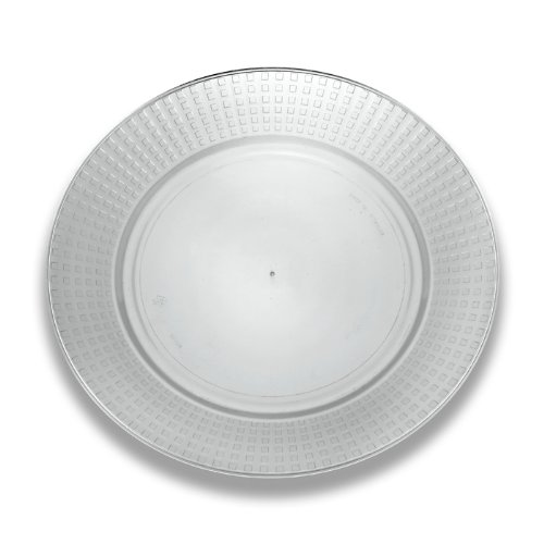 UPC 734592810104, EMI Yoshi Koyal Majestic Dinner Plates, 10.25-Inch, Clear, Set of 120