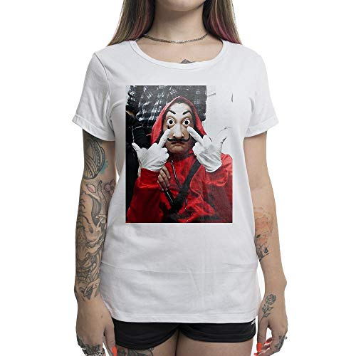 Camiseta Feminina Stoned La Casa de Papel
