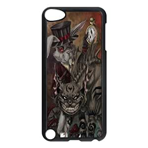 Fggcc Cat Alice In Wonderland Dark Cat Durable Case for Ipod Touch 5,Cat Alice In Wonderland Dark Cat Ipod Touch 5 Phone Case (pattern 10)