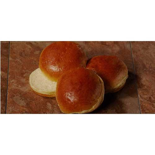 Gonnella Baking 4 inch Brioche Hamburger Bun -- 120 per case.