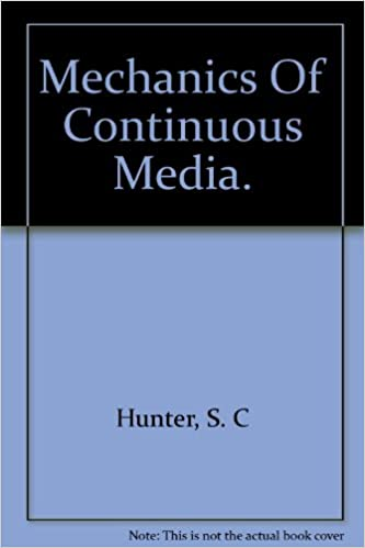 Mechanics Of Continuous Media.