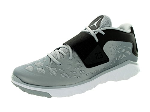 Nike Jordan Men's Jordan Flight Flex Trainer 2 Wolf Grey/White/Black Training Shoe 13 Men US by Jordan