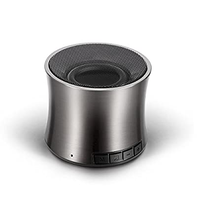 Bluetooth Speakers,Yoyamo 01 Audio Solo Cannon Portable Wireless Speaker, Hands Free Chats, 12 Months Warranty, High-Def Sound Quality with 10 Hours Playtime for Outdoors/Indoor Entertainment