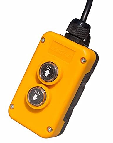 fisters 4 wire dump trailer remote control switch fits double acting  hydraulic pumps: amazon com: industrial & scientific