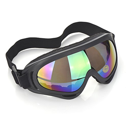 CFIKTE goggles, goggles tactical glasses, cross-country goggles, ski skating mirror, polarized outdoor riding glasses (Multicolor)