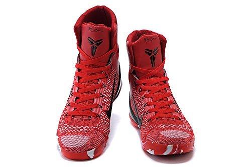 Mens Kobe 9 Elite High Top Basketball Shoes Christmas Day 40EU=7 (Basketball Christmas)