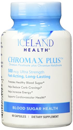 Iceland Health Chromax Plus - 60 Capsules (500 Mcg) Ultra Strength ()