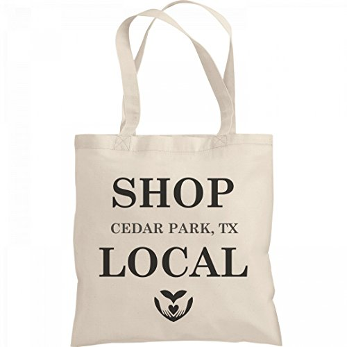 Shop Local Cedar Park, TX: Liberty Bargain Tote - Shopping Cedar Park