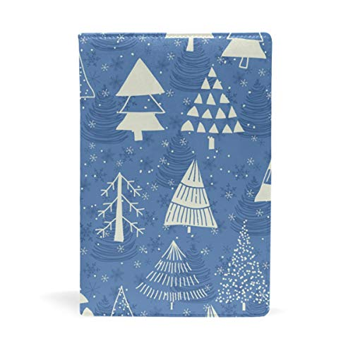 (Book Sox Christmas Greeting Cards Wrapping Book Covers ¨C Fits Most Hardcover Textbooks Up to 8.7 x 8 Adhesive Nylon Fabric School Book Jackets)
