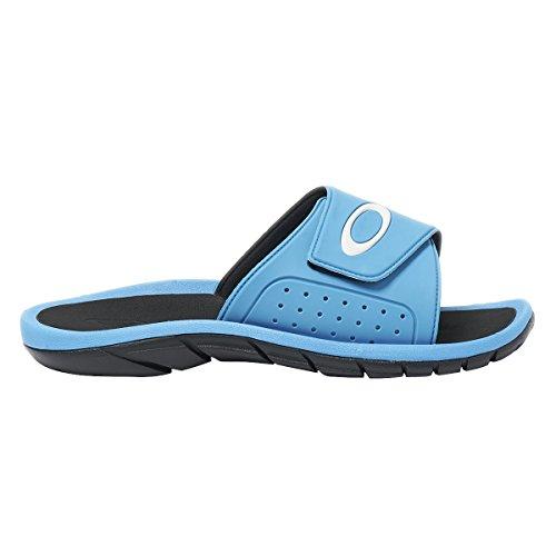 Oakley Men's Super Coil Slide 2.5 Sandals,6,Atomic Blue