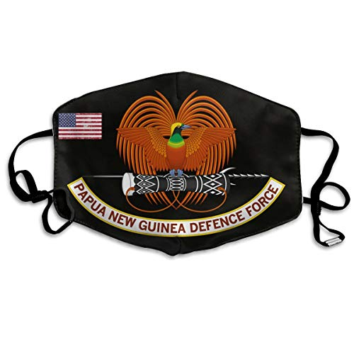 Papua New Guinea Defence Force Unisex Face Masks Dust Mask Reusable Fashion Masks Anti-Dust Flu Mouth Mask