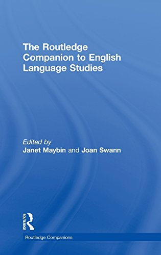 The Routledge Companion to English Language Studies (Routledge Companions)