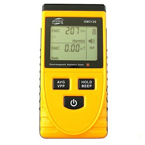 BENETECH GM3120 LCD Display Electromagnetic Radiation Detector EMF Meter Tester the detection of the electric field, magnetic field by Benetech