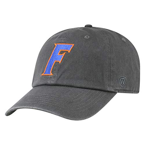 Top of the World Florida Gators Men's Hat Icon, Charcoal, Adjustable