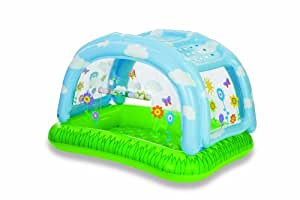 Piscina inflable con cubierta beb for Amazon piscinas infantiles