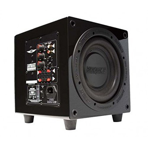 Earthquake Sound MiniMe P8 Passive Tuned Mini Subwoofer (Piano Black) (Discontinued by Manufacturer)