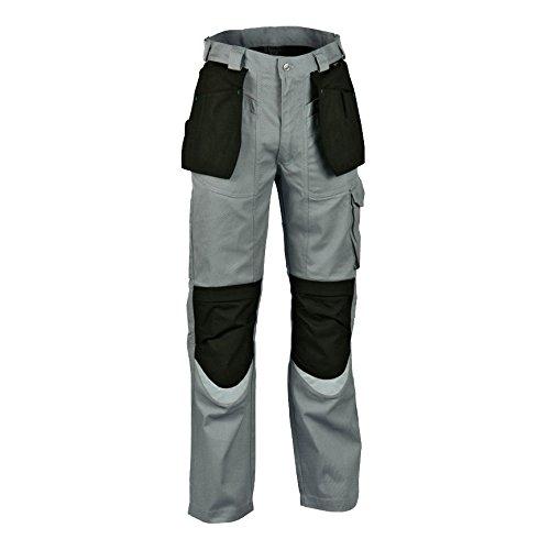 48 /0-01.z48/pantalonifalegname misura in grigio//nero Cofra V064/