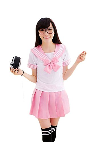 COCON (Japanese Schoolgirl Sailor Uniform Cosplay Costume)
