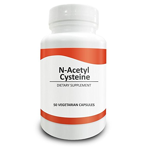 Pure Science N Acetyl Cysteine 700mg – NAC Supplement with Highest Dosage in Amazon – Natural Immunity, Detox, Glutathione Production Support 50 Vegetarian Capsules of N Acetyl Cysteine powder