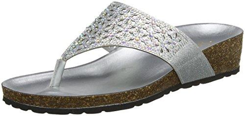 Plateado Sandalias Mujer Lotus Forsetti Con silver De Tira T Para Slv 5gx8xaw0q