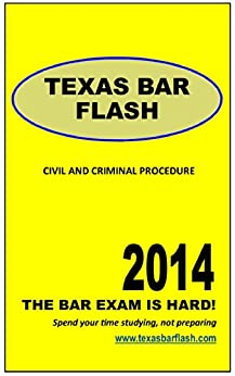 Amazon.com: Texas Civil and Criminal Procedure: A study